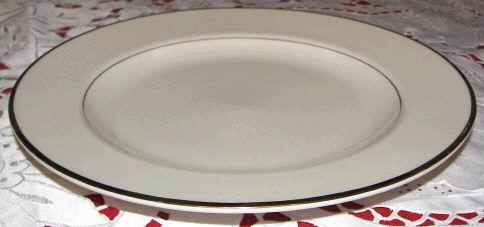 Where to find PLATE, DINNER 10  GOLD BAND in White Oak