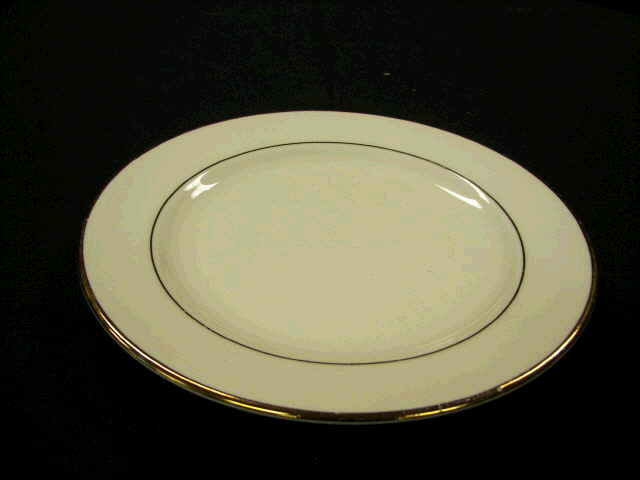 Where to find PLATE, SALAD 7  GOLD BAND in White Oak