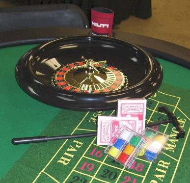 Where to find TABLE, ROULETTE WHEEL 16 in White Oak