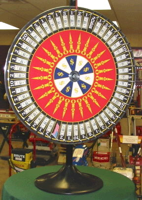 Where to find TABLE, WHEEL OF CHANCE in White Oak