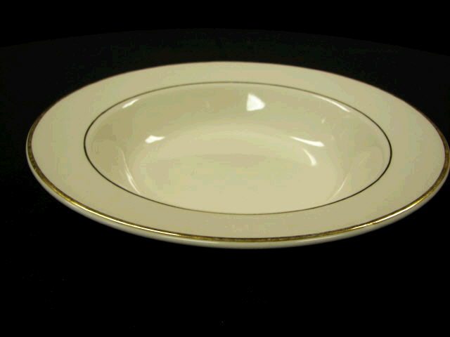 Where to find PLATE, SOUP BOWL GOLD BAND in White Oak