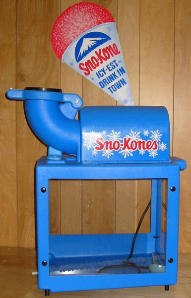snow cone machine rental tx