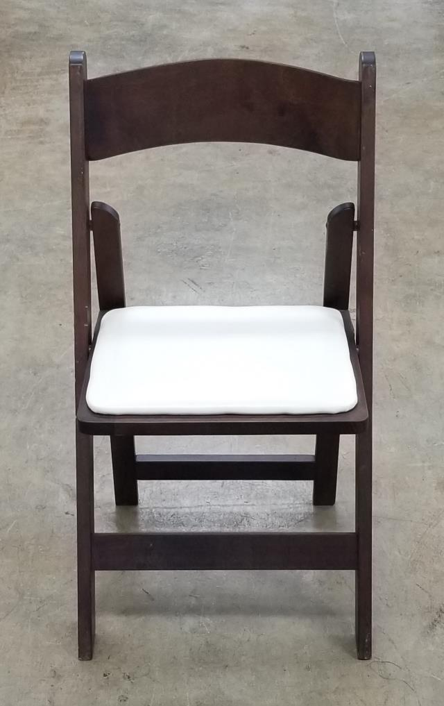 Where to find CHAIR, FRUITWOOD W  PAD in White Oak