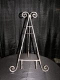 Where to rent EASEL, TABLETOP BROWN ORNATE SWINGBACK in White Oak TX